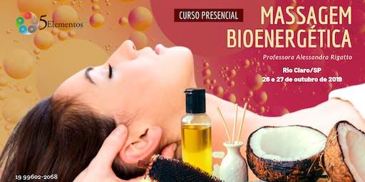 CURSO PRESENCIAL DE MASSAGEM BIOENERGÉTICA