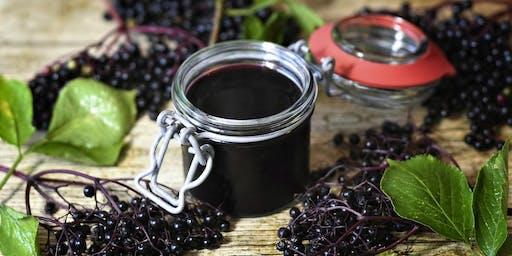 Elderberry Syrup Workshop