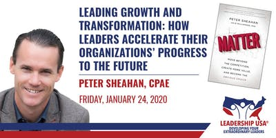 Leading Growth and Transformation - Live Stream