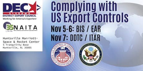 Complying with US Export Controls: BIS/EAR & DDTC/ITAR tickets