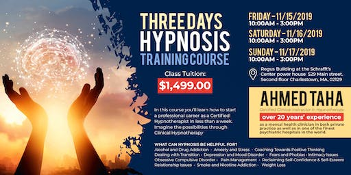 Learn Hypnotherapy in three days