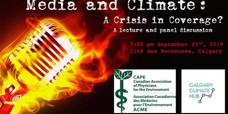 Climate and Media: A crisis in coverage? tickets
