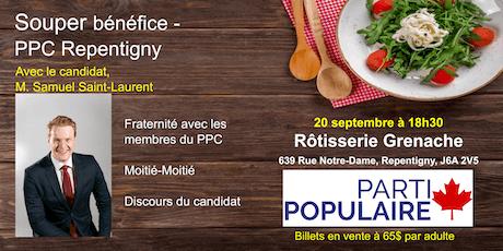 Souper Bénéfice - PPC Repentigny tickets