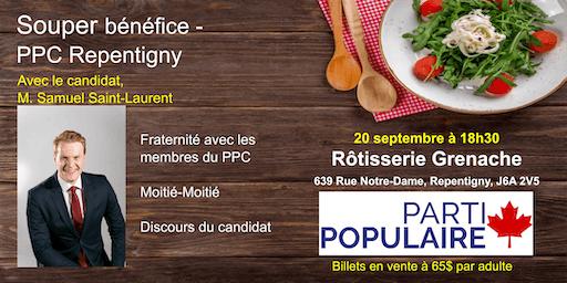 Souper Bénéfice - PPC Repentigny