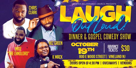 LAUGH Out Loud Dinner & Gospel Comedy Show tickets