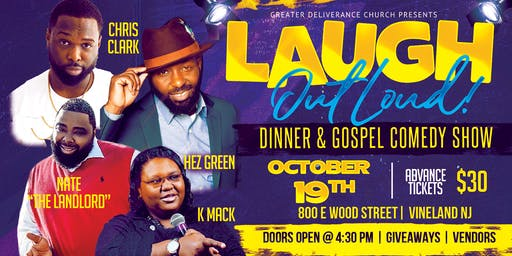 LAUGH Out Loud Dinner & Gospel Comedy Show