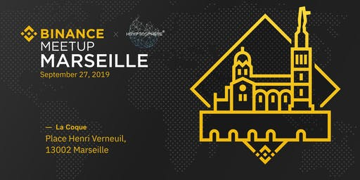 Binance Meetup Marseille x Kryptosphere (Gratuit)