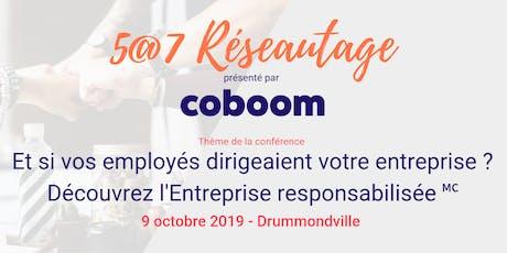 5@7 Drummondville : Et si vos employés dirigeaient votre entreprise ? billets