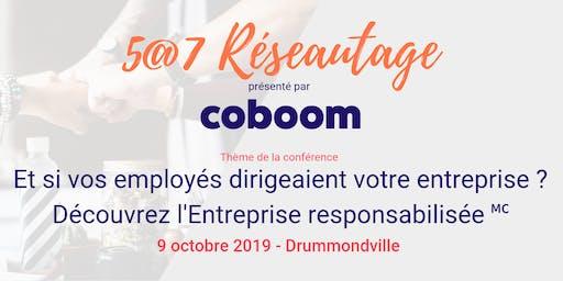 5@7 Drummondville : Et si vos employés dirigeaient votre entreprise ?