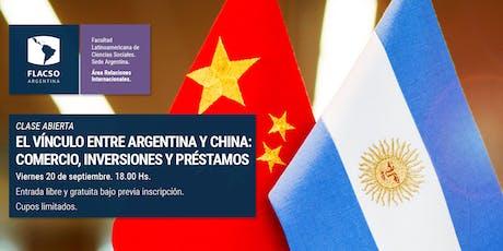 El vínculo entre Argentina y China: Comercio, inversiones y préstamos entradas
