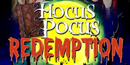 Hocus Pocus Redemption Halloween Party