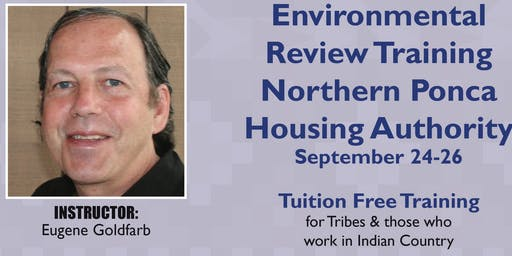 Environmental Review Training Northern Ponca Sept 24-26