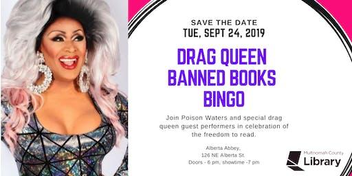 Drag Queen Banned Books Bingo