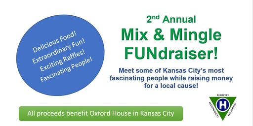 2nd Annual Mix & Mingle Networking Fundraiser - a benefit for Oxford House