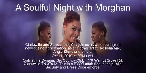 A Soulful Night with Morghan (FREE EVENT!!!)