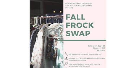 Femme Forward Fall Frock Swap tickets