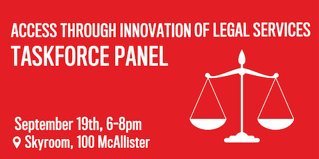 Access Through Innovation of Legal Services Taskforce Panel tickets