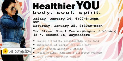 Healthier YOU. body. soul. spirit. workshop