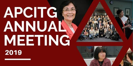 APCITG Annual Meeting 2019 (APCITG 2019年会) FREE! tickets