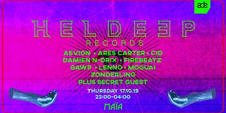 Heldeep Records - ADE 2019 tickets