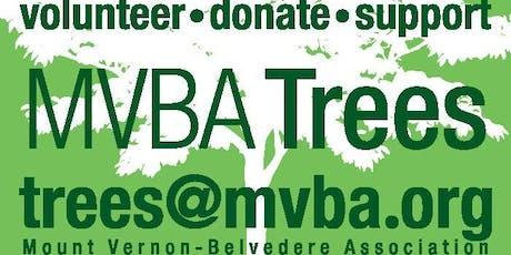 MVBA October 2019 Tree Planting & Maintenance tickets