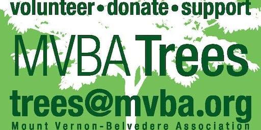 MVBA October 2019 Tree Planting & Maintenance
