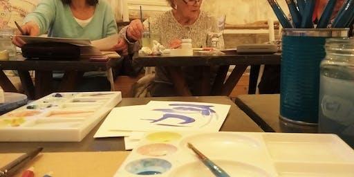 Flowers in Watercolours Taster Workshop