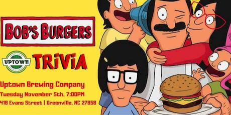 Bob's Burgers Trivia at Uptown Brewing Company  tickets