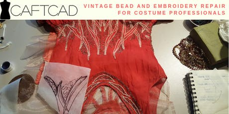 Vintage Bead and Embroidery Repair for Costume Professionals tickets