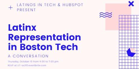 Latinx Representation in Boston Tech tickets