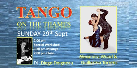 Tango on the Thames with Alexandra Wood & Guillermo Torrens tickets