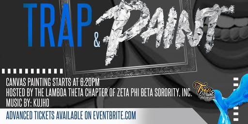 Trap & Paint HBG hosted by Zeta Phi Beta Sorority, Inc Lambda Theta Chapter