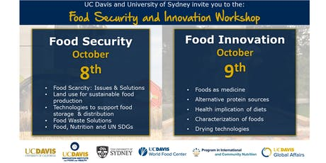 Food Security and Food Innovation Workshop tickets
