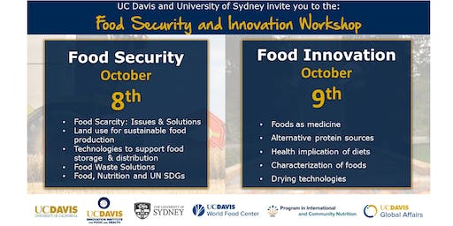 Food Security and Food Innovation Workshop