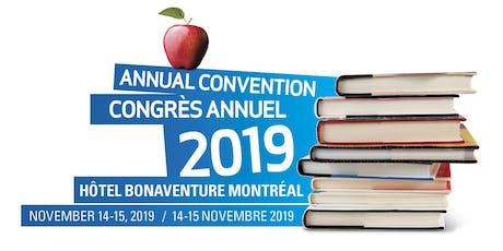 QPAT PRE-CONVENTION WORKSHOPS/ATELIERS PRÉCONGRÈS DE L'APEQ tickets