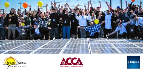 Alberta Communities Invest in Solar tickets