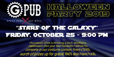"""""""Stars of the Galaxy"""" Halloween Party at GPub"""
