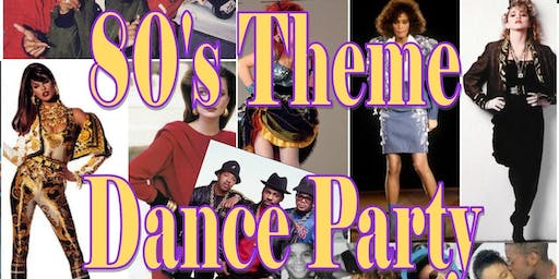 Recovery Month 80's Theme Dance