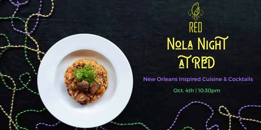 NOLA Night @RED