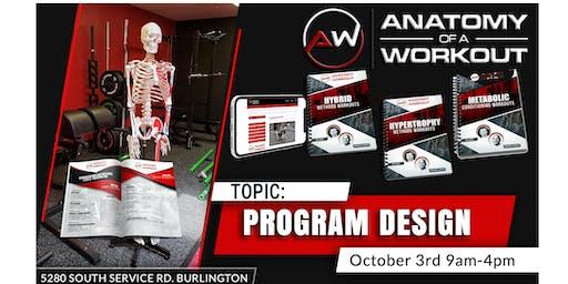 Anatomy of a Workout: Program Design Workshop