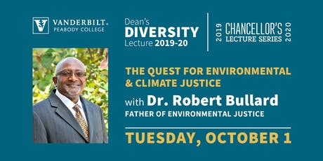 The Quest for Environmental & Climate Justice with Dr. Robert Bullard tickets