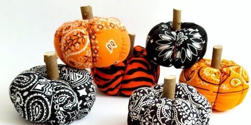 Bandana Pumpkins Class