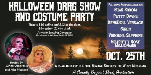 SOLD OUT: Halloween Drag Show and Costume Party