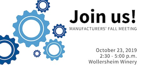 2019 South Central Wisconsin Manufacturing Councils' Fall Meeting tickets