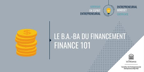 CEE: Le b.a.-ba du financement  | EMC: Finance 101 tickets