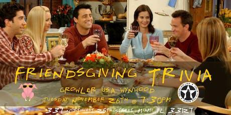 Friendsgiving Trivia at Growler USA Wynwood tickets