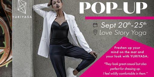 Love Story Yoga x YURIYASA Popup Event