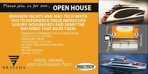 Bravada Yachts & Mac-Tech Open House