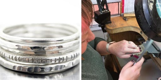 Make Your Own Silver Stacking Rings - Jewelry Lessons