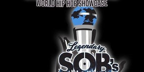 SOBs: Common Ground World Hip Hop Showcase - Jaz Vernon tickets